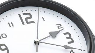 アナログな時計