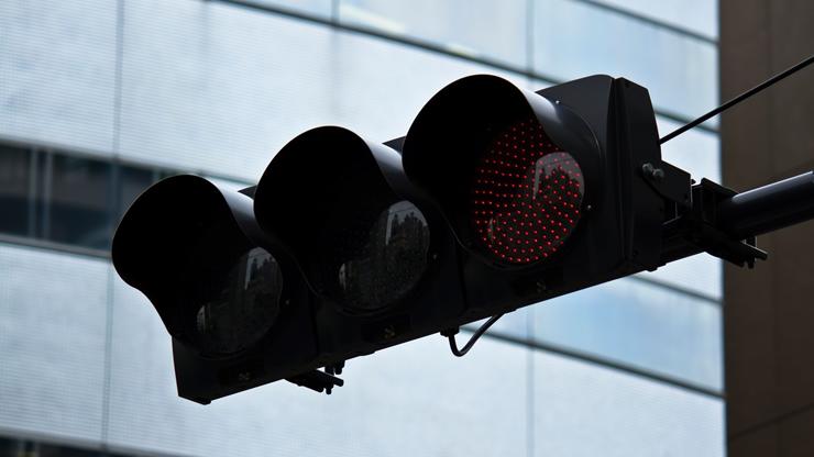 黒い信号機