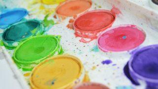 絵具のパレット