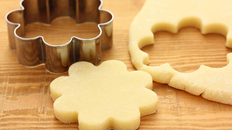 クッキーと抜き型