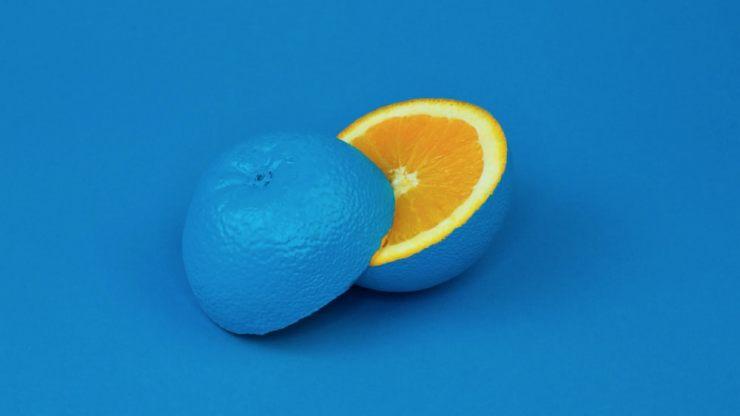 青いみかん