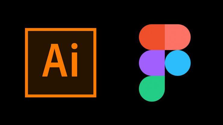 Illustratorで作成した線画をUIデザインツールFigmaにコピーする方法のアイキャッチ画像