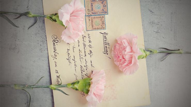 手書きの招待状のイメージ